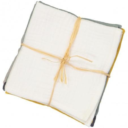 Kcnsieou Serviette en gaze de coton doux et confortable absorbant mouchoir chat Jacquard de cuisine /à suspendre